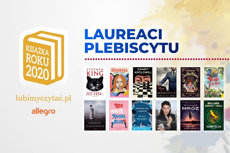 laureaci plebiscytu książka roku 2020