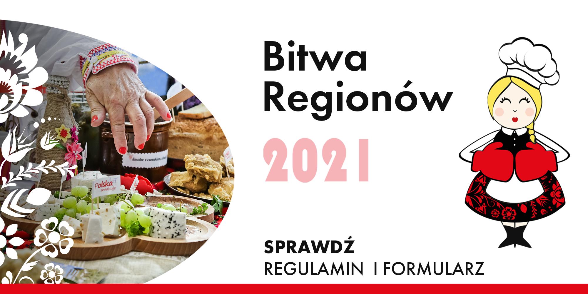 plakat Bitwy Regionów 2021