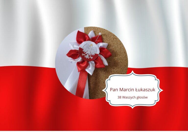 Kotylion Pana Marcina Łukaszuka