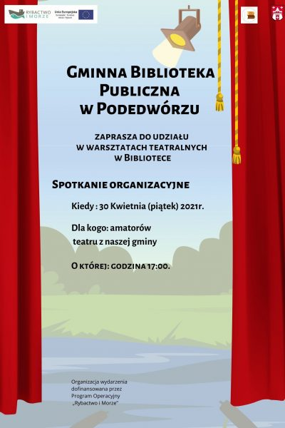 Zaproszenie na Warsztaty Teatralne